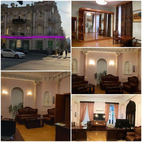 Аренда 5к квартира/офис 154м2 Центр пл.Победы Саксаганского