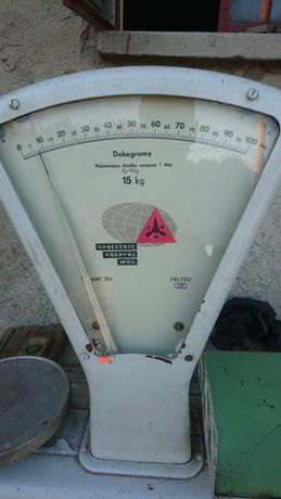 Waga Sklepowa 15 kg PRL