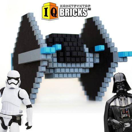 Новинка Конструктор IQ Bricks 300 деталек (аналог Лего DUPLO)