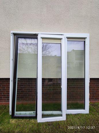 Okno balkonowe witryna taras plastikowe