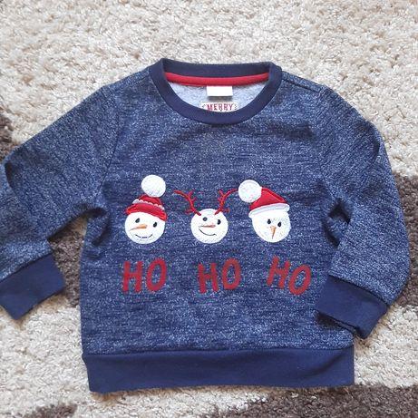 Новогодний свитер на 2-3 года