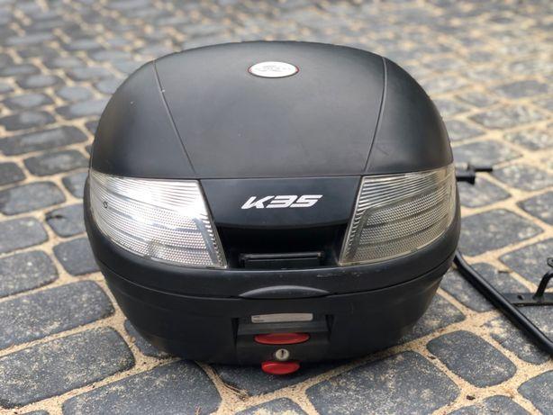Kufer Bagażnik KAPPA K35 + stelaż Yamaha XT 125cmm