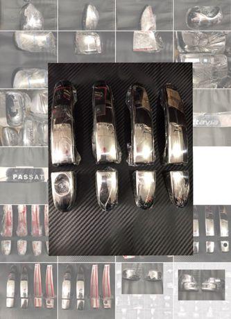 Накладки на ручки Focus II,Fusion,Fiesta,Mondeo,Tranzit,FiatDoblo нерж