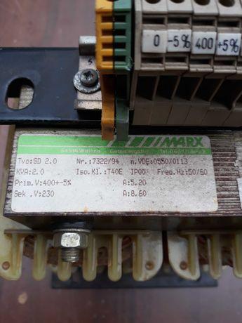 Transformator 400Vna230V 2.2kVA