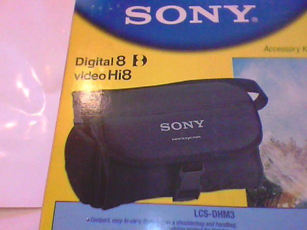 Torba na kamerę - Sony - Digital 8 - Video Hi 8 - Nowa - Okazja