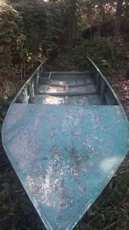 Лодка со стекловолокна плоскодонка, копия Казанки