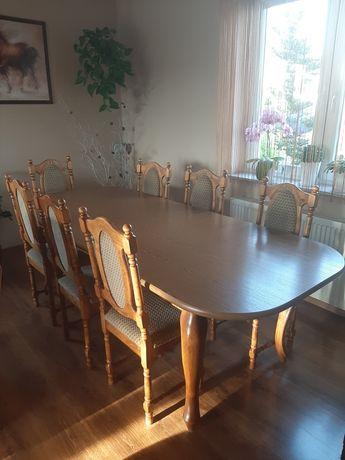 Stół z krzesłami stan idealny super okazja!!!