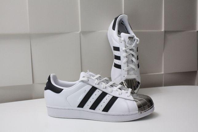 Кроссовки женские Adidas Superstar Metal Toe White BB5114 ОРИГИНАЛ