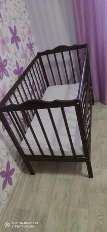 Кроватка для новорожденных с матрасом, от 0 до 3 лет
