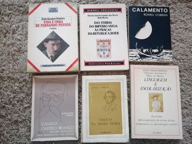 Almeida Garret, Camilo Castelo Branco, João Gaspar Simões 6 livros