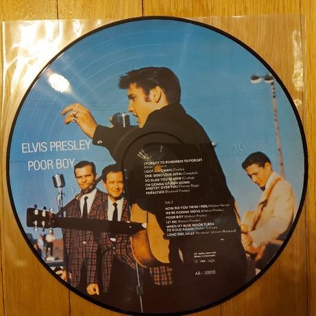 Elvis Presley, Poor Boy, Picture Disc, Ger, 1984,