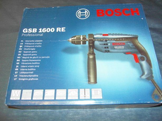 Wiertarka udarowa Bosch GSB 1600 RE Gwarancja