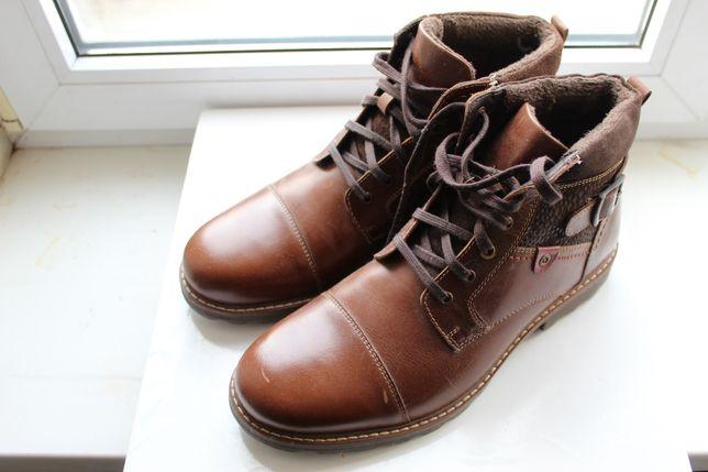 Кожаные мужские ботинки Cypres