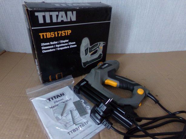 NOWY Zszywacz gwoździarka Taker TTB517STP TITAN
