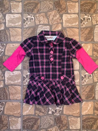 Carter's платье туника рубашка 1,5-2 года