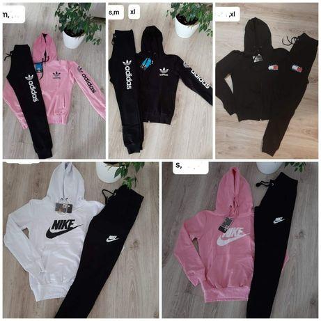 Dresy damskie z logo Nike Adidas kolory S-XL!!!