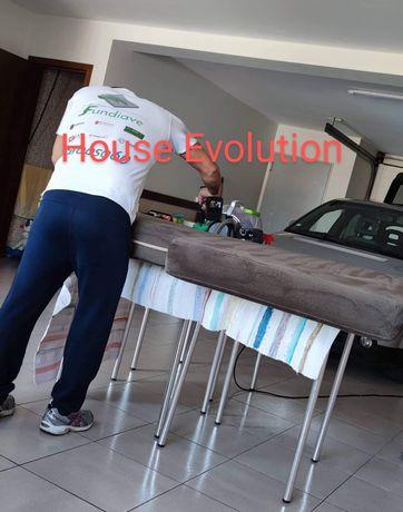 Todo o tipo de limpeza doméstica,lavagem de sofás, estofos e carpetes