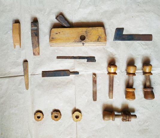 Столярные инструменты и ещё что-то