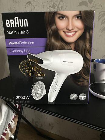 Фен braun satin hair 3 ionic с ионизацией