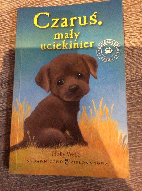 Ksiazka dla dzieci Czaruś mały uciekinier Holly Webb