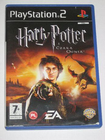 Harry Potter i Czara Ognia po polsku BDB PS2 PL