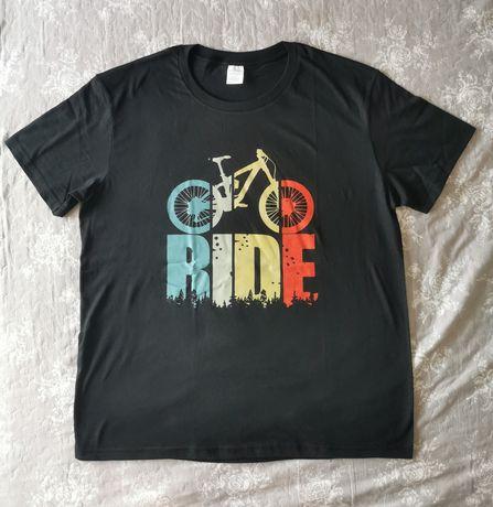 Koszulka T-shirt MTB RIDE rower roz. XL