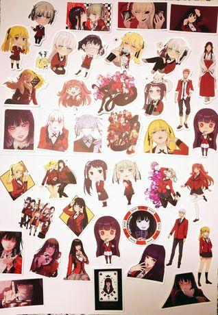 Naklejki anime manga Kakegurui