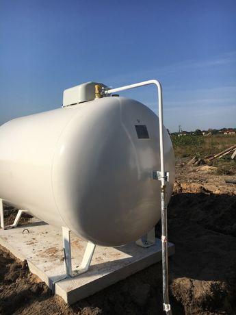 Zbiornik na gaz płynny propan 2700 l. nowy