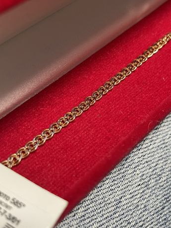 Продам НОВЫЙ золотой браслет и подвеску буква А