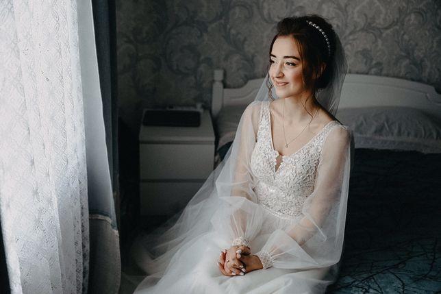 Весільна сукня 2019-2020 / Свабедное платье бохо  + фата
