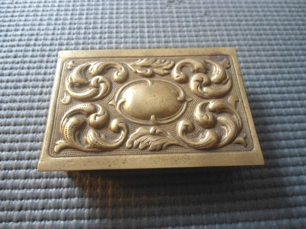 Caixa em Metal para guardar caixa de fósforos Swan Vestas