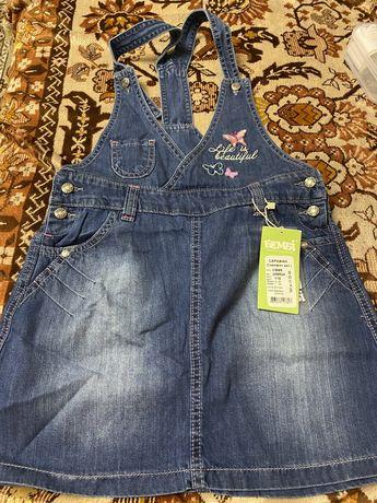 Продам джинсовые сарафаны для девочки ТМ Бемби