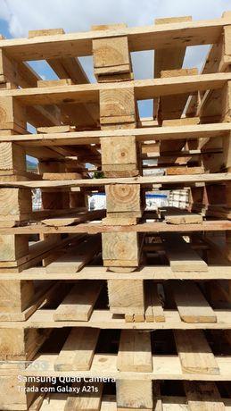 Paletes madeira novas decoração 80x1.00 com tratamento fitossanitario