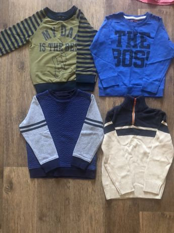 Регланы и свитер на мальчика