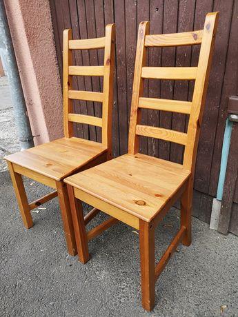 Krzesło drewniane, krzesła drewniane, dwa krzesła drewniane