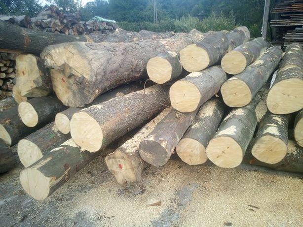 drewno kominkowe drzewo opałowe buk, jesion własny transport