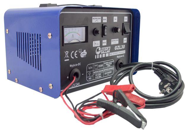 Prostownik 12V 24V funkcja szybkiego ładowania 30A (PRO26)