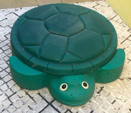 Areneiro tartaruga verde - little tikes