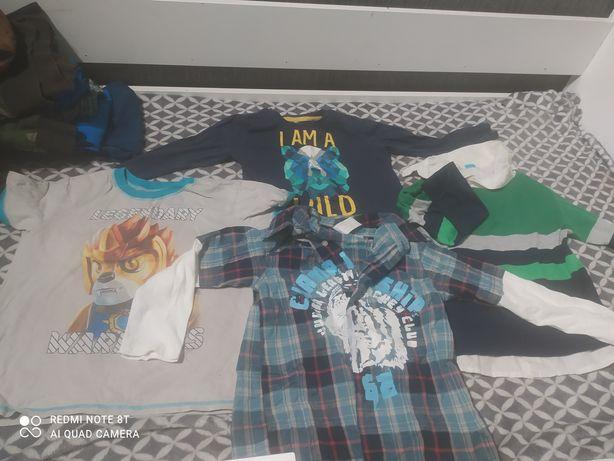 Bluzki koszule dla chłopca
