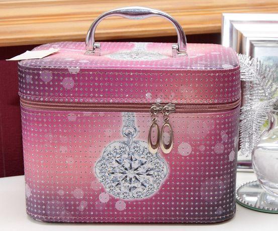 Kuferek na kosmetyki i biżuterię i inne drobiazgi