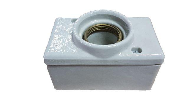 Gniazdo porcelanowe bezpiecznika topikowego 100A 500V