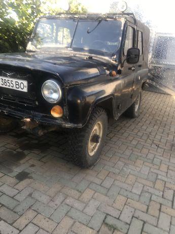 УАЗ 31512 перехідна модель на хантер