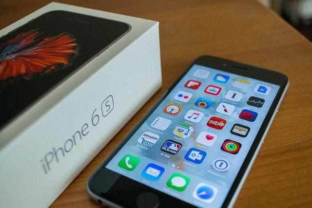 Iphone 6s 32g caixa e garantia com smart case Apple