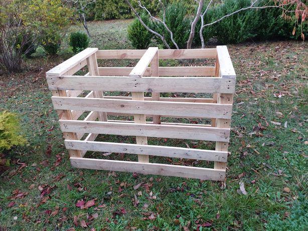 Skrzynka drewniana Kompostownik bio eko 120x60 wys 80 rolnicze