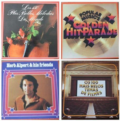 4 Caixas com 8 LPs raros para venda