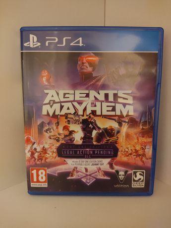 Gra Agents of Mayhem PS4 + DLC Playstation 4 PL !!!JAK NOWA!!!