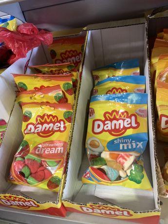 Жуйки Damel 100грам,Жвачки,Жевачки,Італійські продукти,Продукти з Італ