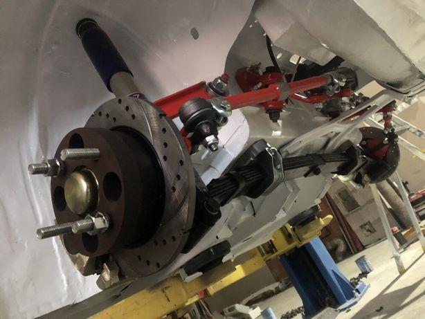 Sportowe amortyzatory z regulacja tłumienia Fiat 126p kjs gsmp mt