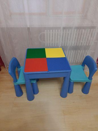Стол и стулья песочница детские Tega baby Mamut(Польша)