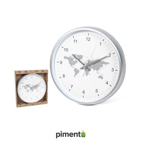 Relógio de Parede – Mundo